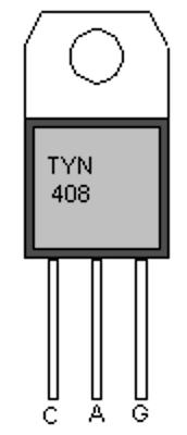 TYN408 TYN408G Silicon controlled rectifier IC